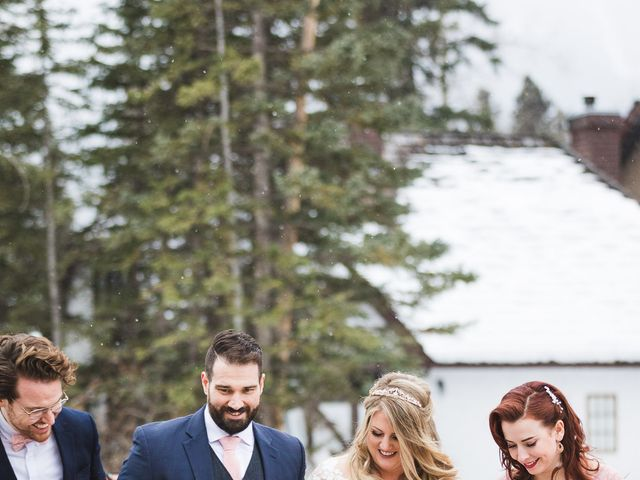 Shawn and Kaley's wedding in Canmore, Alberta 203