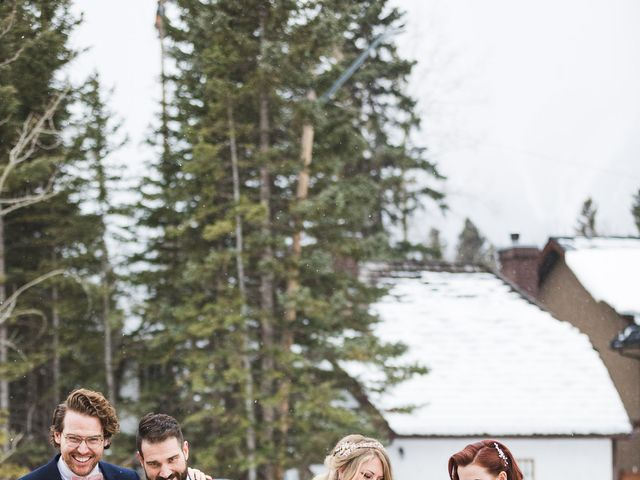 Shawn and Kaley's wedding in Canmore, Alberta 204