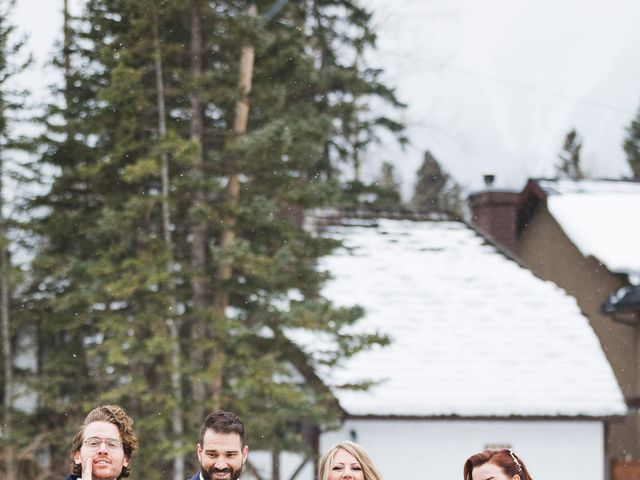 Shawn and Kaley's wedding in Canmore, Alberta 208