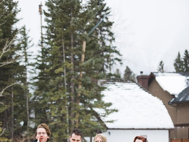 Shawn and Kaley's wedding in Canmore, Alberta 209