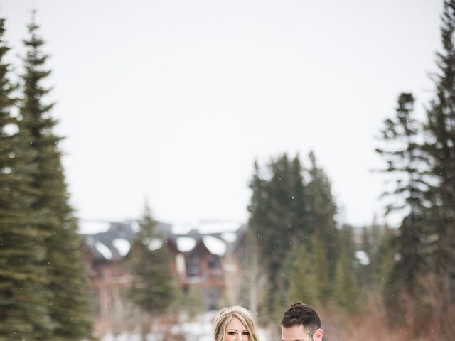Shawn and Kaley's wedding in Canmore, Alberta 220