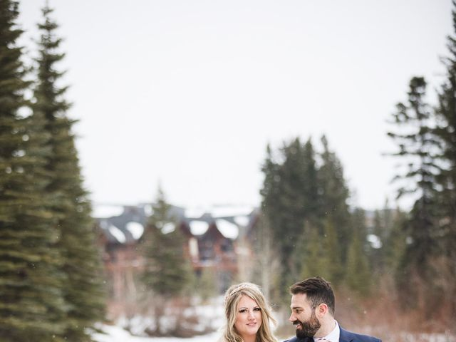 Shawn and Kaley's wedding in Canmore, Alberta 221