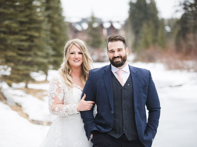 Shawn and Kaley's wedding in Canmore, Alberta 224