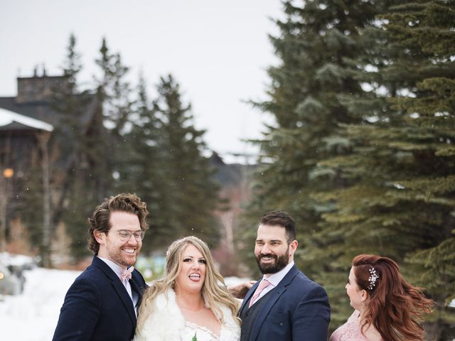 Shawn and Kaley's wedding in Canmore, Alberta 240
