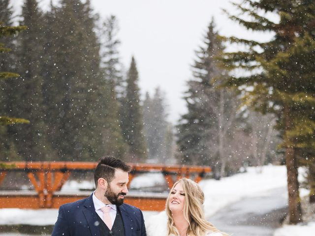 Shawn and Kaley's wedding in Canmore, Alberta 274