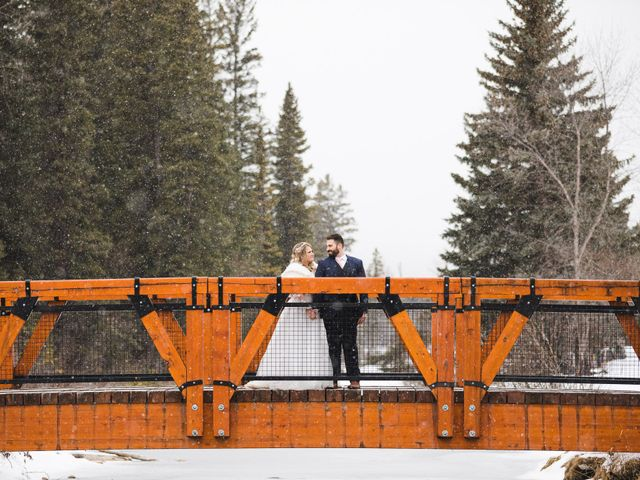 Shawn and Kaley's wedding in Canmore, Alberta 280