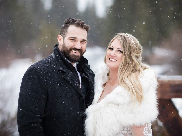Shawn and Kaley's wedding in Canmore, Alberta 300