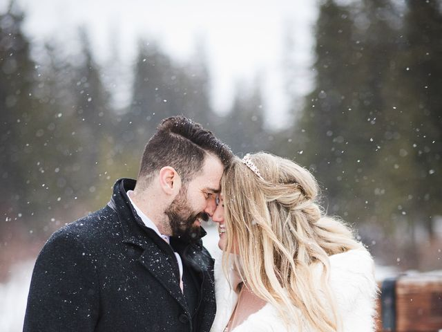 Shawn and Kaley's wedding in Canmore, Alberta 303