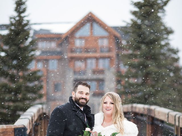 Shawn and Kaley's wedding in Canmore, Alberta 306