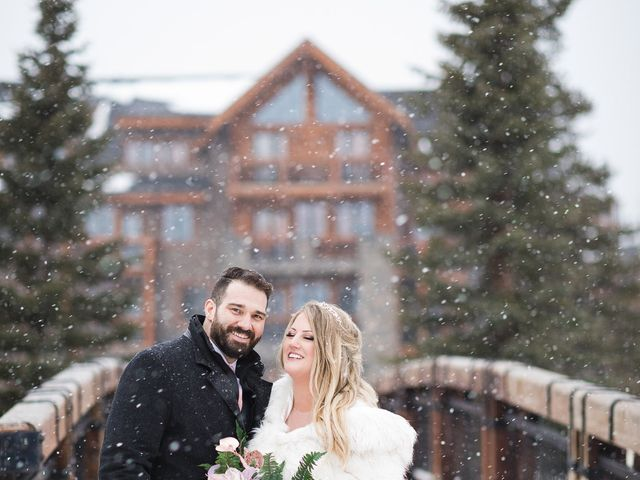 Shawn and Kaley's wedding in Canmore, Alberta 308