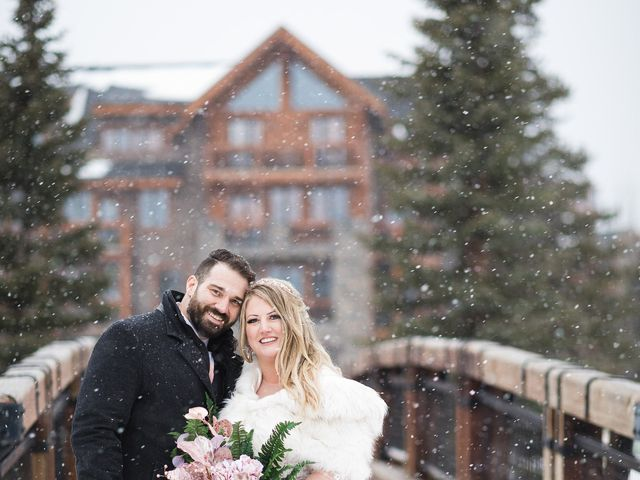 Shawn and Kaley's wedding in Canmore, Alberta 309