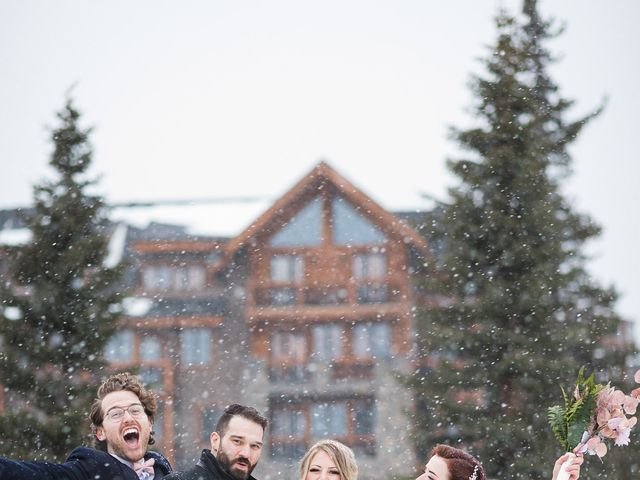 Shawn and Kaley's wedding in Canmore, Alberta 1