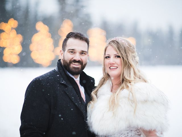 Shawn and Kaley's wedding in Canmore, Alberta 2