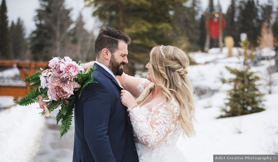 The wedding of Kaley and Shawn