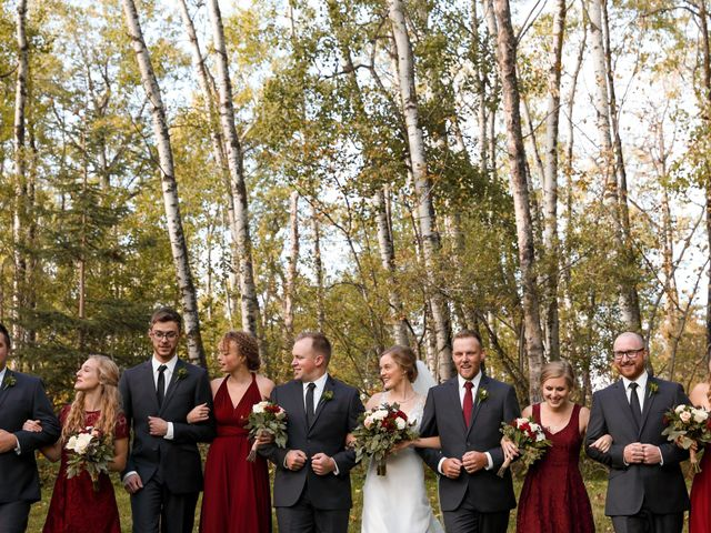 The wedding of Katrina and Brayden