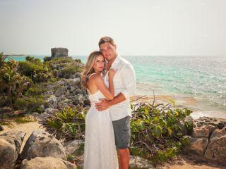 The wedding of Jenna and Rob
