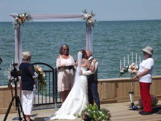 The wedding of Tamara and Warren