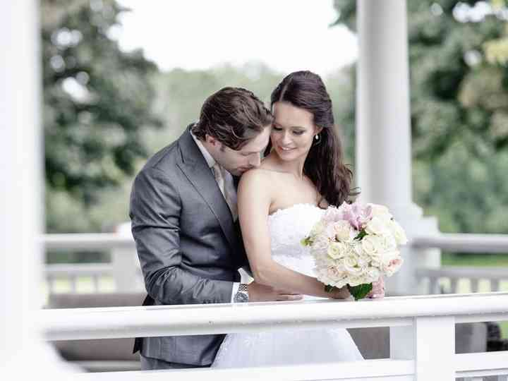 The wedding of Hege and Phil