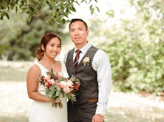 The wedding of Mary and Brandon