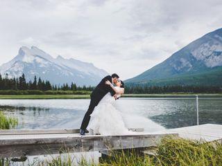 The wedding of Sabrina and Chris