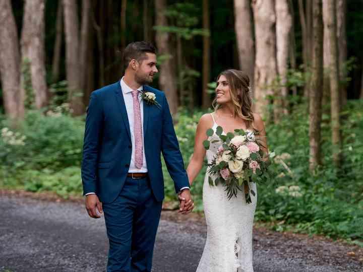 The wedding of Kristina and Tynan