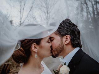 The wedding of Anna Peca and Dorian Peca