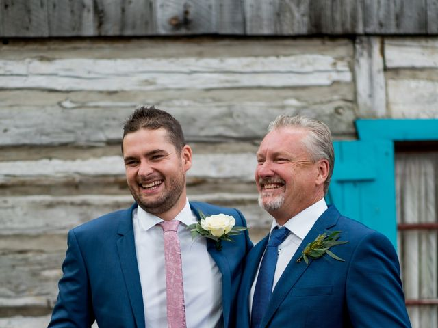 Tynan and Kristina's wedding in Rigaud, Quebec 1