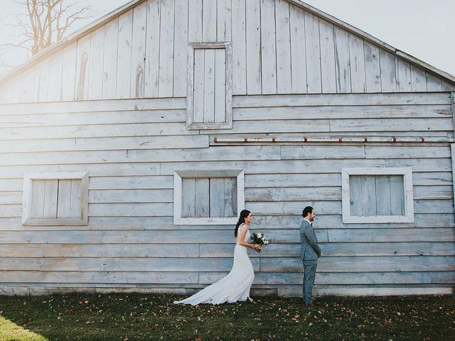 Dennis and Lindsay's wedding in Cambridge, Ontario 5