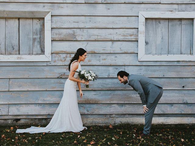 Dennis and Lindsay's wedding in Cambridge, Ontario 1