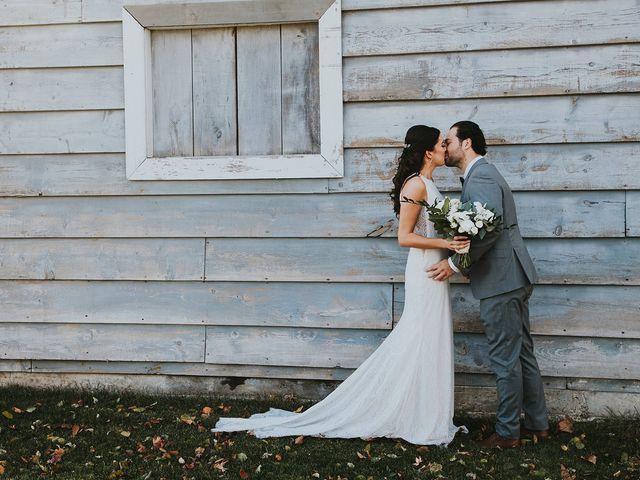 Dennis and Lindsay's wedding in Cambridge, Ontario 7