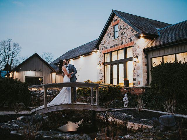 Dennis and Lindsay's wedding in Cambridge, Ontario 12