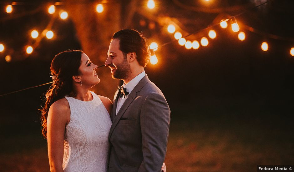 Dennis and Lindsay's wedding in Cambridge, Ontario