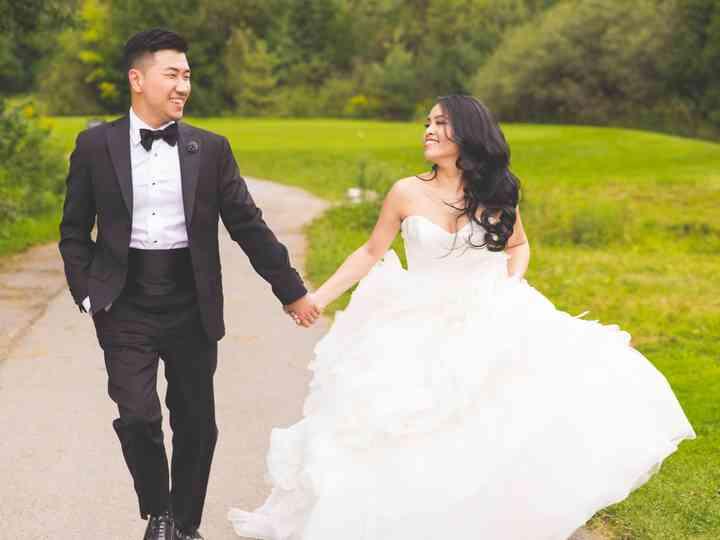 The wedding of Dorinda and Kien