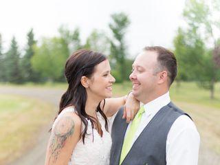 The wedding of Jared and Cheri