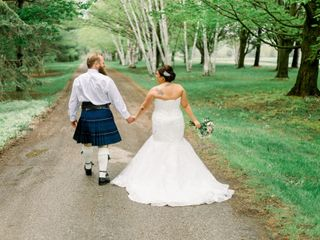 The wedding of Sarah and Jon