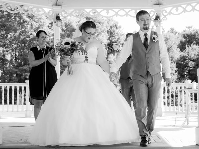 The wedding of Alexes and Travis