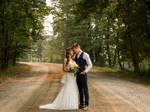 Jon and Rachel's wedding in Abbotsford, British Columbia 1
