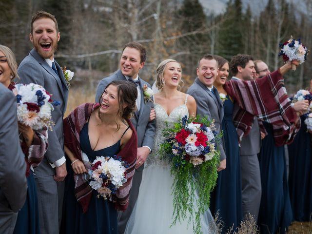Dylan and Cassidy's wedding in Canmore, Alberta 7
