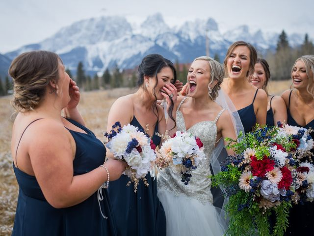 Dylan and Cassidy's wedding in Canmore, Alberta 8