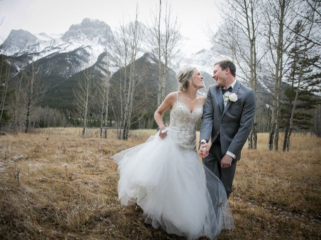 Dylan and Cassidy's wedding in Canmore, Alberta 9