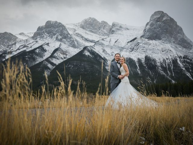 Dylan and Cassidy's wedding in Canmore, Alberta 10