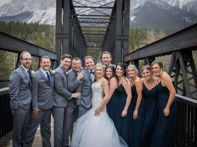Dylan and Cassidy's wedding in Canmore, Alberta 1