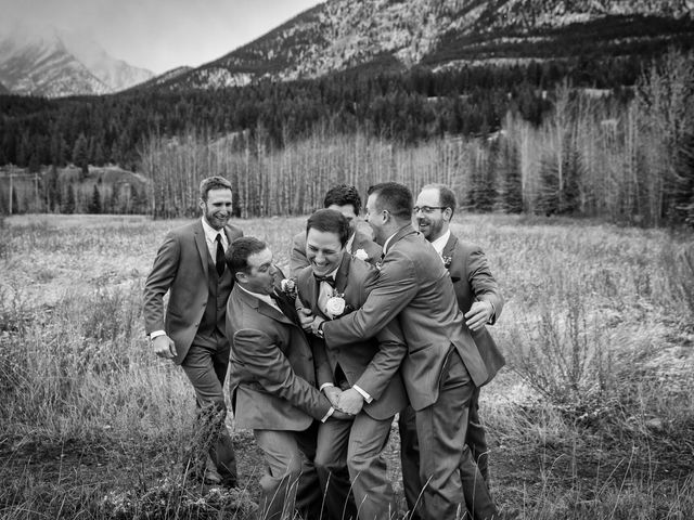 Dylan and Cassidy's wedding in Canmore, Alberta 11