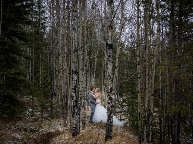 Dylan and Cassidy's wedding in Canmore, Alberta 12