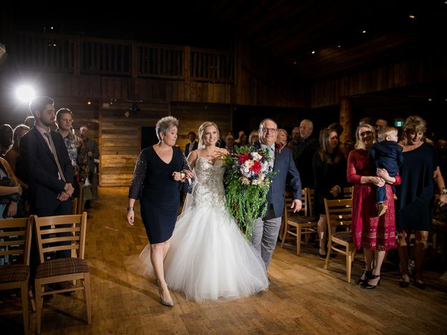 Dylan and Cassidy's wedding in Canmore, Alberta 14