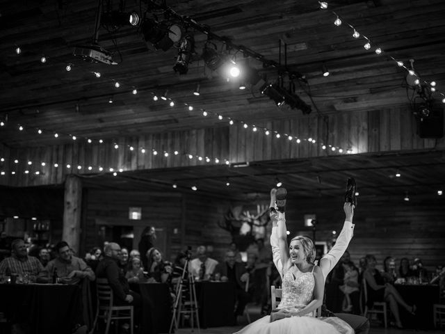 Dylan and Cassidy's wedding in Canmore, Alberta 16