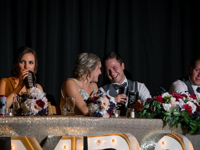 Dylan and Cassidy's wedding in Canmore, Alberta 17