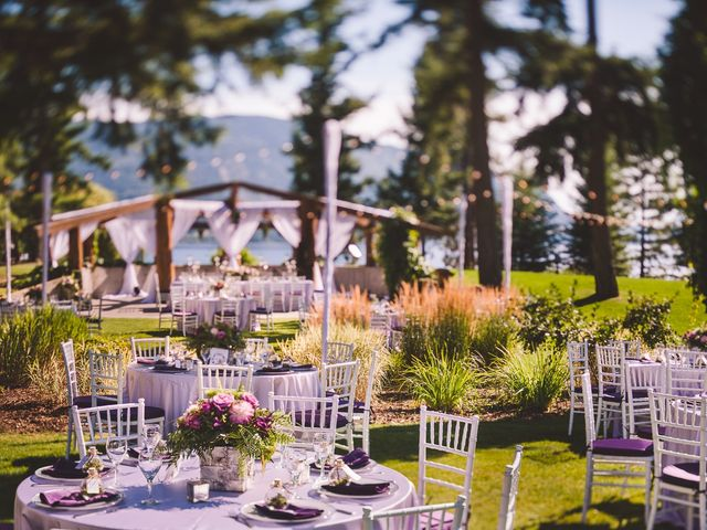 Alex and Nelle's wedding in Chase, British Columbia 16