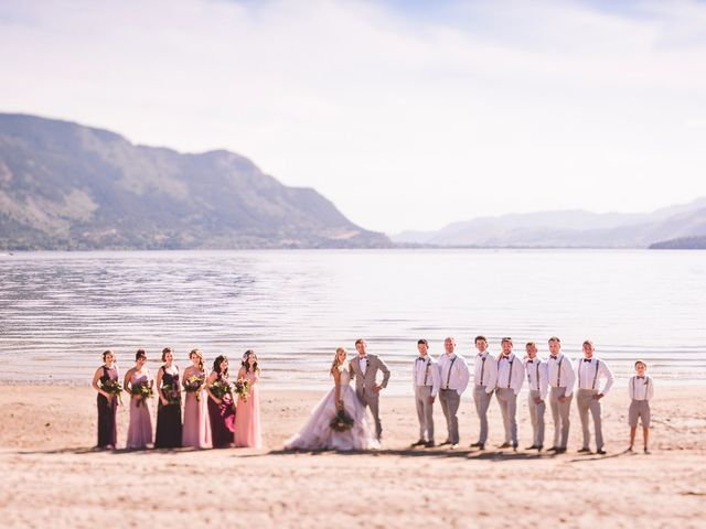 Alex and Nelle's wedding in Chase, British Columbia 20