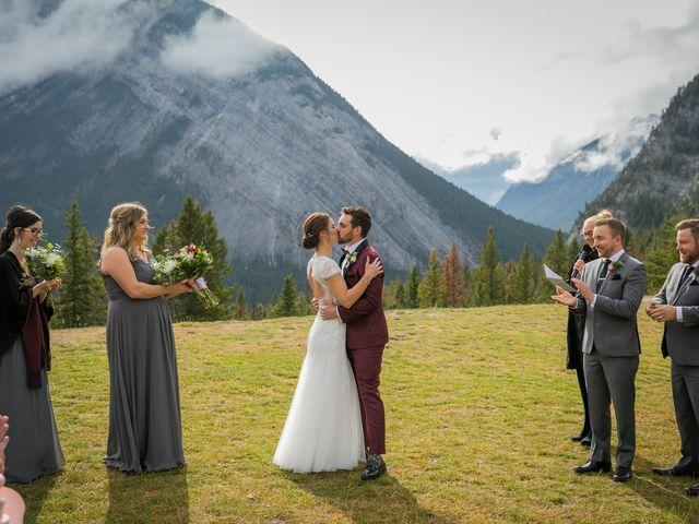 Mike and Santana's wedding in Banff, Alberta 10